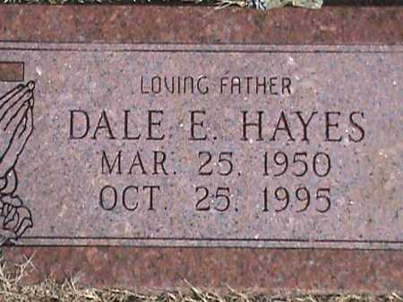 HAYES, DALE E - Izard County, Arkansas | DALE E HAYES - Arkansas Gravestone Photos