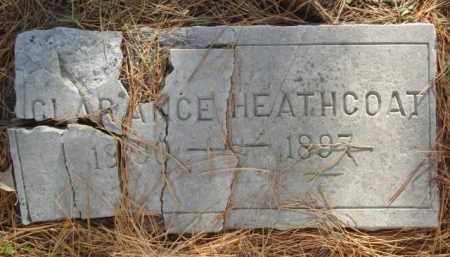 HEATHCOAT, CLARENCE - Izard County, Arkansas   CLARENCE HEATHCOAT - Arkansas Gravestone Photos