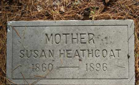 HEATHCOAT, SUSAN - Izard County, Arkansas | SUSAN HEATHCOAT - Arkansas Gravestone Photos