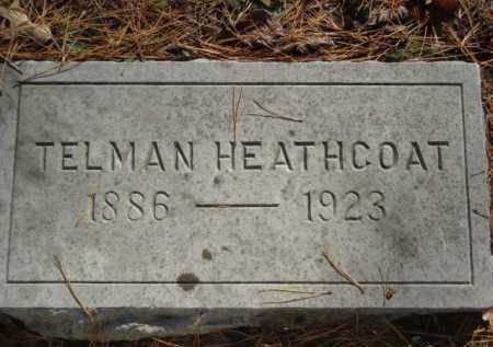 HEATHCOAT, TELMAN - Izard County, Arkansas | TELMAN HEATHCOAT - Arkansas Gravestone Photos