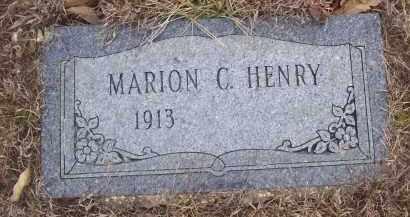 HENRY, MARION C - Izard County, Arkansas | MARION C HENRY - Arkansas Gravestone Photos