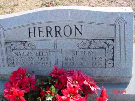 HERRON, MARGIE ELLA - Izard County, Arkansas | MARGIE ELLA HERRON - Arkansas Gravestone Photos