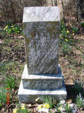 HERRON, WILLIAM OSCAR - Izard County, Arkansas | WILLIAM OSCAR HERRON - Arkansas Gravestone Photos