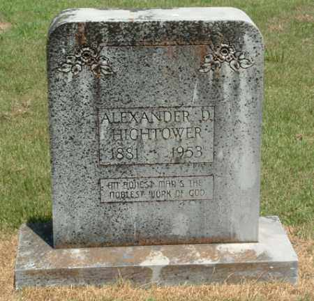HIGHTOWER, ALEXANDER DOWNEY - Izard County, Arkansas | ALEXANDER DOWNEY HIGHTOWER - Arkansas Gravestone Photos