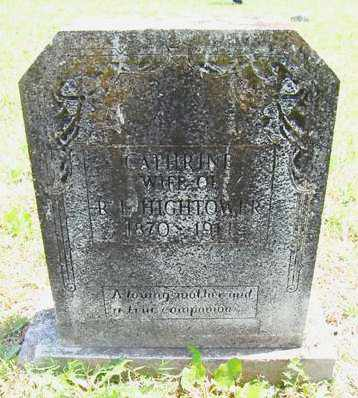 HIGHTOWER, CATHERINE - Izard County, Arkansas | CATHERINE HIGHTOWER - Arkansas Gravestone Photos