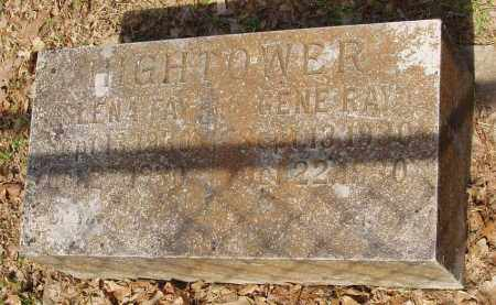 HIGHTOWER, GLENA FAY - Izard County, Arkansas | GLENA FAY HIGHTOWER - Arkansas Gravestone Photos