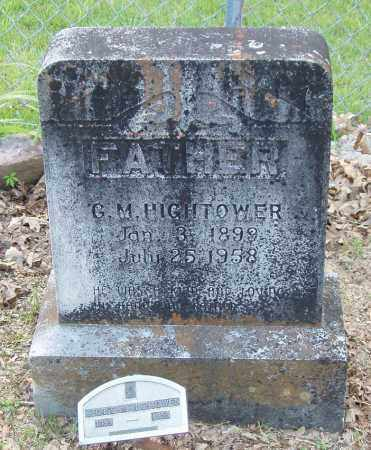 HIGHTOWER, GEORGE MARTIN - Izard County, Arkansas | GEORGE MARTIN HIGHTOWER - Arkansas Gravestone Photos
