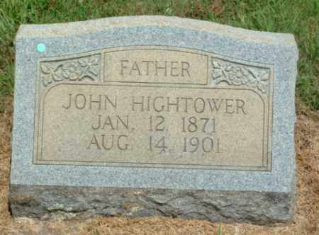 HIGHTOWER, JOHN W - Izard County, Arkansas | JOHN W HIGHTOWER - Arkansas Gravestone Photos