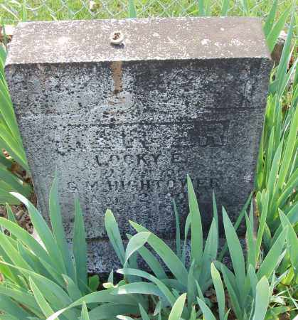 HIGHTOWER, LOCKY EUNICE - Izard County, Arkansas | LOCKY EUNICE HIGHTOWER - Arkansas Gravestone Photos
