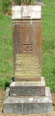 HIGHTOWER, MARY ANN - Izard County, Arkansas | MARY ANN HIGHTOWER - Arkansas Gravestone Photos