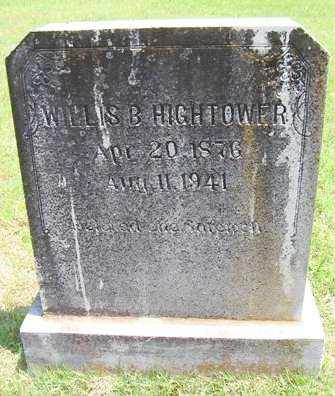 HIGHTOWER, WILLIS BURTON - Izard County, Arkansas | WILLIS BURTON HIGHTOWER - Arkansas Gravestone Photos