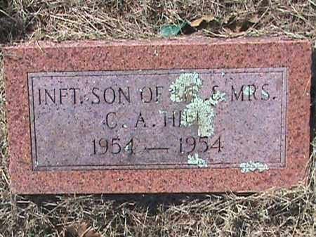 HILL, INFANT SON - Izard County, Arkansas | INFANT SON HILL - Arkansas Gravestone Photos