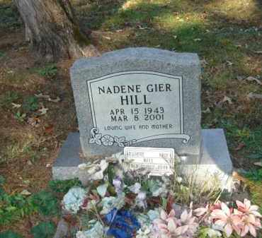 GIER HILL, NADENE - Izard County, Arkansas | NADENE GIER HILL - Arkansas Gravestone Photos