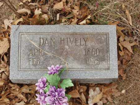 HIVELY, DAN - Izard County, Arkansas | DAN HIVELY - Arkansas Gravestone Photos