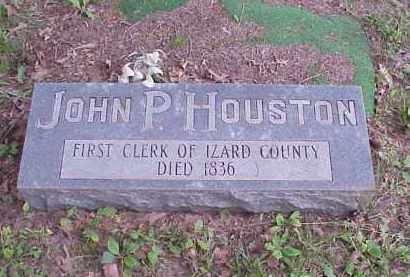 HOUSTON, JOHN P - Izard County, Arkansas | JOHN P HOUSTON - Arkansas Gravestone Photos