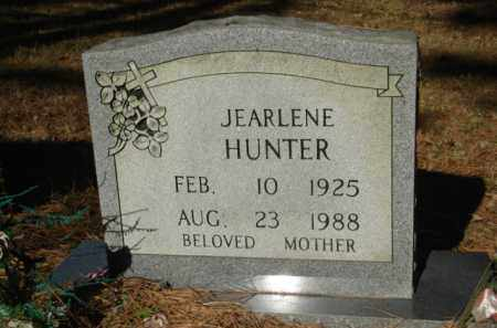 HUNTER, JEARLENE - Izard County, Arkansas | JEARLENE HUNTER - Arkansas Gravestone Photos