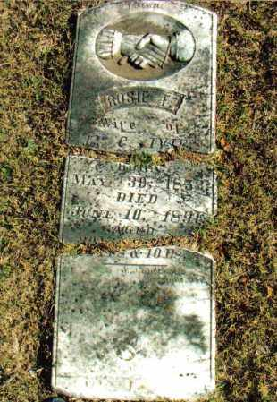"CARPENTER IVIE, ROSA FRANCES ""ROSIE"" - Izard County, Arkansas 