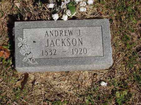 JACKSON, ANDREW J - Izard County, Arkansas | ANDREW J JACKSON - Arkansas Gravestone Photos