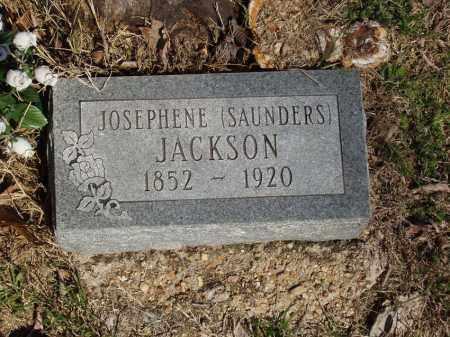 SAUNDERS JACKSON, JOSEPHENE - Izard County, Arkansas | JOSEPHENE SAUNDERS JACKSON - Arkansas Gravestone Photos