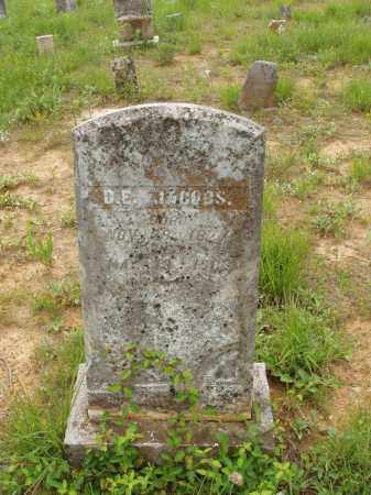 JACOBS, D EDWARD - Izard County, Arkansas | D EDWARD JACOBS - Arkansas Gravestone Photos