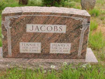 JACOBS, HENRY A - Izard County, Arkansas | HENRY A JACOBS - Arkansas Gravestone Photos