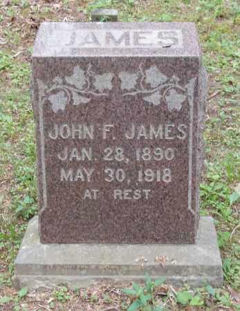 JAMES, JOHN F - Izard County, Arkansas | JOHN F JAMES - Arkansas Gravestone Photos