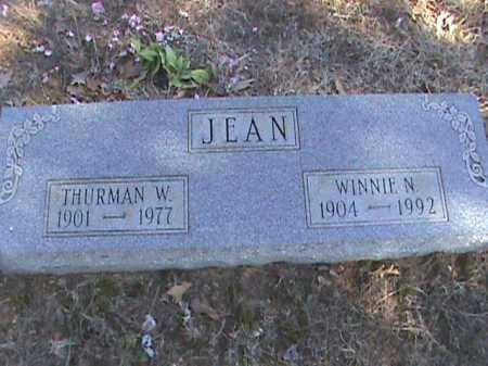 JEAN, THURMAN W. - Izard County, Arkansas | THURMAN W. JEAN - Arkansas Gravestone Photos