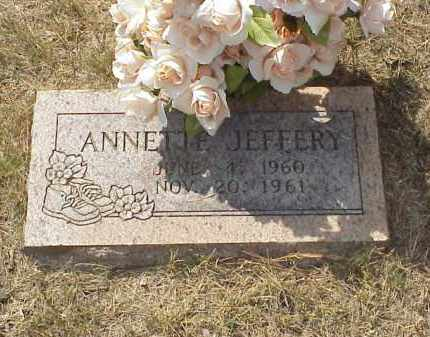 JEFFERY, ANNETTE JANE - Izard County, Arkansas | ANNETTE JANE JEFFERY - Arkansas Gravestone Photos