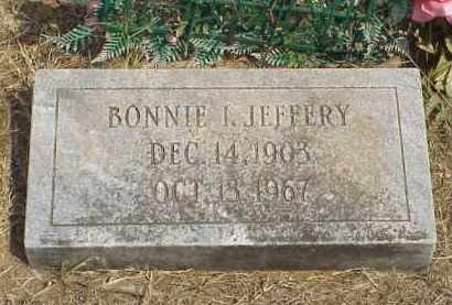 JEFFERY, BONNIE IRENE - Izard County, Arkansas | BONNIE IRENE JEFFERY - Arkansas Gravestone Photos