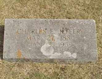 JEFFERY, CHARLES ERNEST - Izard County, Arkansas | CHARLES ERNEST JEFFERY - Arkansas Gravestone Photos