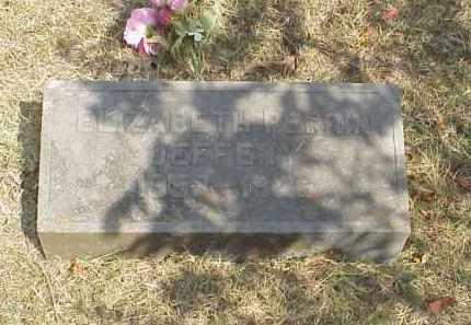 JEFFERY, ELIZABETH PERRIN - Izard County, Arkansas   ELIZABETH PERRIN JEFFERY - Arkansas Gravestone Photos