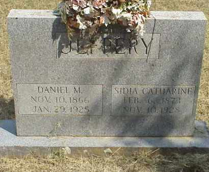 "JEFFERY, SIDIA CATHERINE ""CASSIE"" - Izard County, Arkansas 