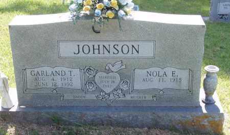 JOHNSON, GARLAND T - Izard County, Arkansas | GARLAND T JOHNSON - Arkansas Gravestone Photos