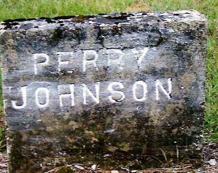 JOHNSON, PERRY - Izard County, Arkansas | PERRY JOHNSON - Arkansas Gravestone Photos