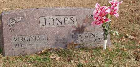 JONES, A. GENE - Izard County, Arkansas | A. GENE JONES - Arkansas Gravestone Photos