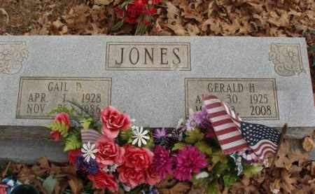 JONES, GAIL D - Izard County, Arkansas | GAIL D JONES - Arkansas Gravestone Photos