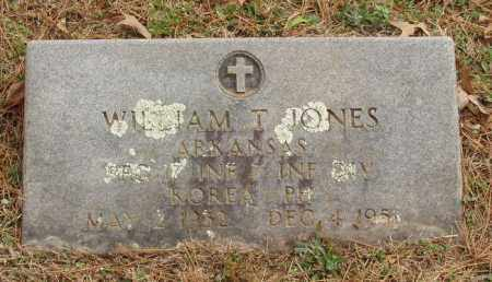 JONES  (VETERAN KOR, KIA), WILLIAM THURMON - Izard County, Arkansas | WILLIAM THURMON JONES  (VETERAN KOR, KIA) - Arkansas Gravestone Photos