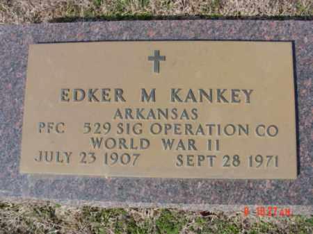 KANKEY  (VETERAN WWII), EDKER M. - Izard County, Arkansas | EDKER M. KANKEY  (VETERAN WWII) - Arkansas Gravestone Photos