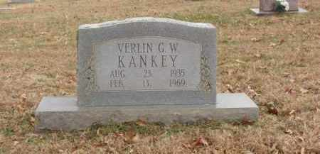 KANKEY, VERLIN G.W. - Izard County, Arkansas | VERLIN G.W. KANKEY - Arkansas Gravestone Photos