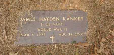 KANKEY  (VETERAN WWII), JAMES HAYDEN - Izard County, Arkansas | JAMES HAYDEN KANKEY  (VETERAN WWII) - Arkansas Gravestone Photos