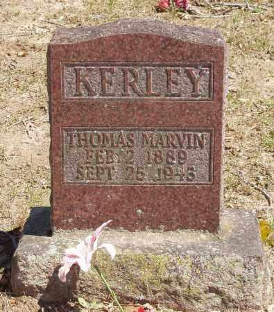 KERLEY, THOMAS MARVIN - Izard County, Arkansas | THOMAS MARVIN KERLEY - Arkansas Gravestone Photos