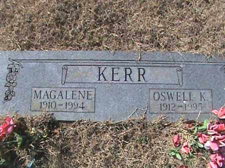 KERR, OSWELL K. - Izard County, Arkansas | OSWELL K. KERR - Arkansas Gravestone Photos
