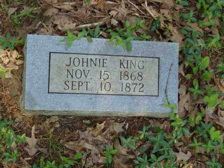 KING, JOHNIE - Izard County, Arkansas | JOHNIE KING - Arkansas Gravestone Photos