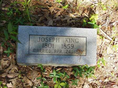 KING, JOSEPH - Izard County, Arkansas | JOSEPH KING - Arkansas Gravestone Photos