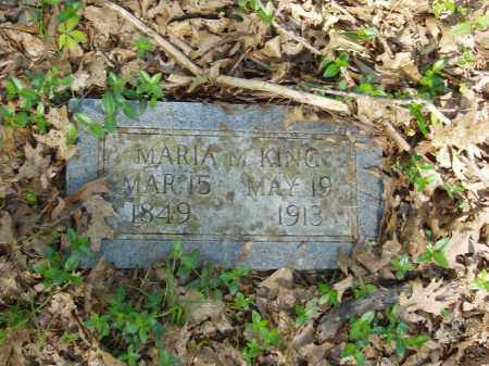 KING, MARIA M - Izard County, Arkansas | MARIA M KING - Arkansas Gravestone Photos