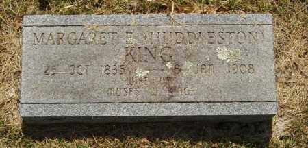 HUDDLESTON KING, MARGARET E - Izard County, Arkansas | MARGARET E HUDDLESTON KING - Arkansas Gravestone Photos