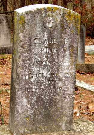 KING (VETERAN WWI), CLAUD H. - Izard County, Arkansas | CLAUD H. KING (VETERAN WWI) - Arkansas Gravestone Photos