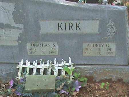 KIRK, AUDREY G. - Izard County, Arkansas | AUDREY G. KIRK - Arkansas Gravestone Photos