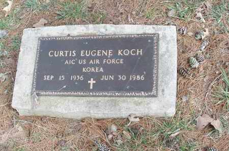 KOCH   (VETERAN KOR), CURTIS EUGENE - Izard County, Arkansas | CURTIS EUGENE KOCH   (VETERAN KOR) - Arkansas Gravestone Photos