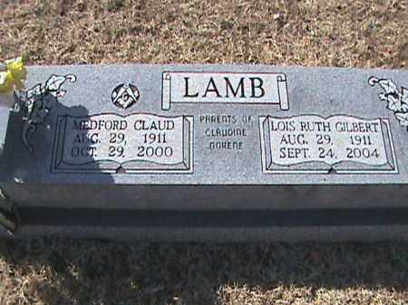 GILBERT LAMB, LOIS RUTH - Izard County, Arkansas | LOIS RUTH GILBERT LAMB - Arkansas Gravestone Photos